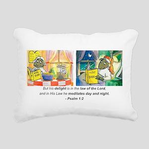 Ps 1 v2 DB Signature sca Rectangular Canvas Pillow