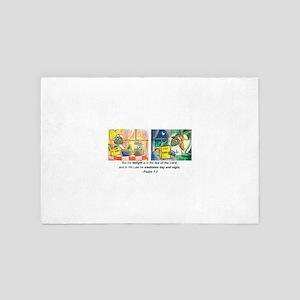 Ps 1 v2 DB Signature scan 2 16 08 CRPD 4' x 6' Rug