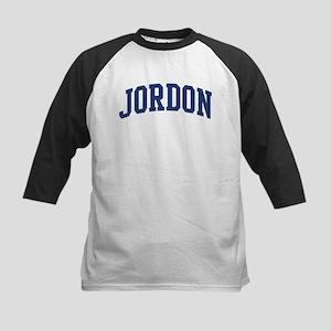 JORDON design (blue) Kids Baseball Jersey