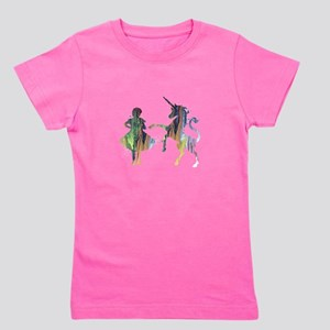 A child and a unicorn T-Shirt