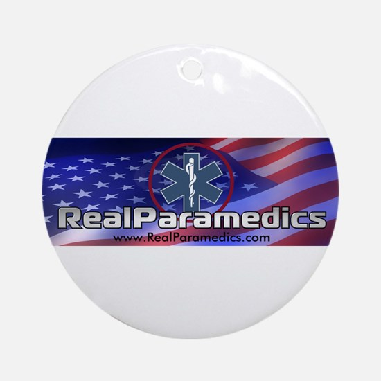 American Paramedic Gifts and Ornament (Round)