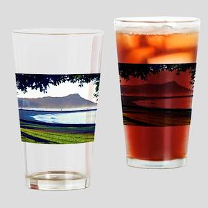 Magic Island Hawaii Drinking Glass