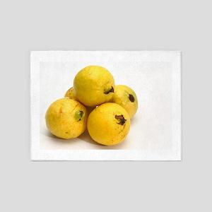 Guava fruits 5'x7'Area Rug