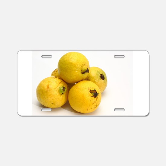 Guava fruits Aluminum License Plate