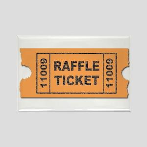 Raffle Ticket Magnets