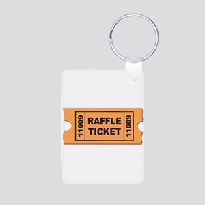 Raffle Ticket Keychains