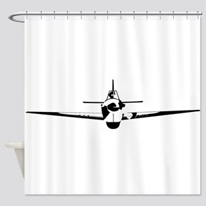 Fighter Shower Curtain