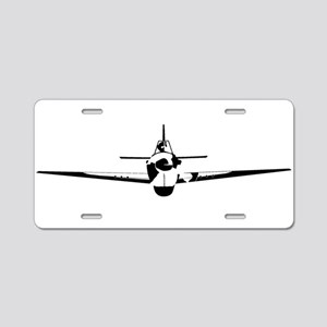 Fighter Aluminum License Plate