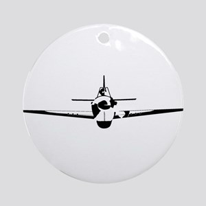Fighter Round Ornament