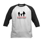 Parenting (red stars) Kids Baseball Jersey
