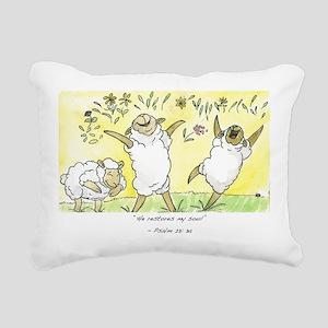 psalm 23: 3a Rectangular Canvas Pillow