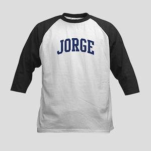JORGE design (blue) Kids Baseball Jersey