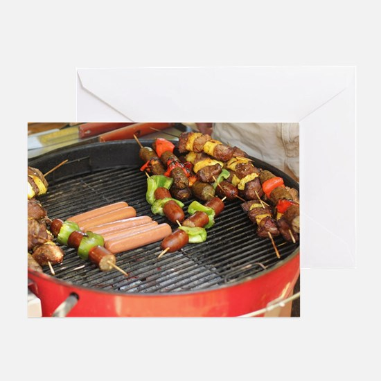 Cute Barbeque Greeting Card