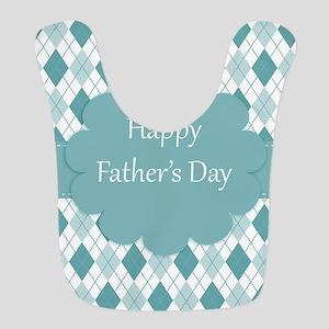 Fathers Day plaid Bib