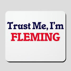 Trust Me, I'm Fleming Mousepad