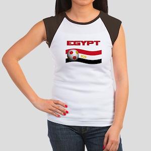 TEAM EGYPT WORLD CUP Women's Cap Sleeve T-Shirt