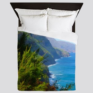 Kalalau Trail Hawaii Queen Duvet