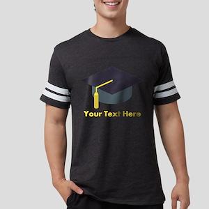 Emoji Personalized Graduate Mens Football Shirt