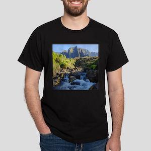 Kalalau Stream Kauai Dark T-Shirt