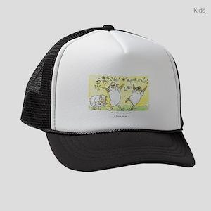 psalm 23: 3a Kids Trucker hat