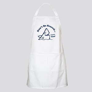Don't Be Scared Shark BBQ Apron