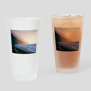 Sunset Kalalau Beach Drinking Glass