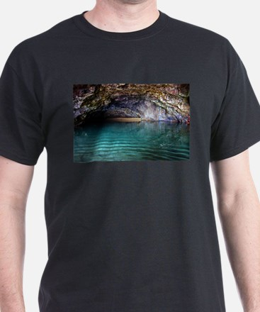 Kalalau Beach Cave Spa T-Shirt