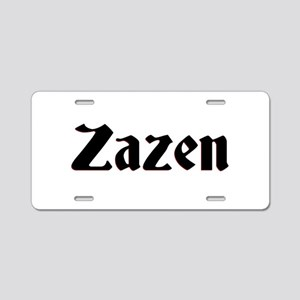 Zazen Aluminum License Plate
