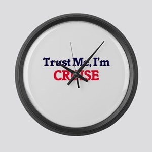 Trust Me, I'm Cruise Large Wall Clock