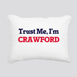 Trust Me, I'm Crawford Rectangular Canvas Pillow