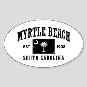 Myrtle Beach Sticker (Oval)