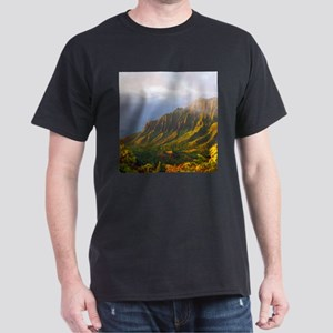 Kalalau Valley Sunset Dark T-Shirt