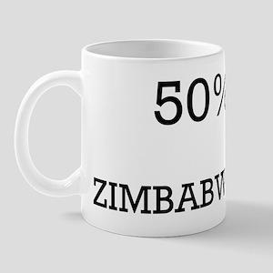 50% Zimbabwean Mug