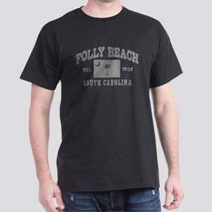 Folly Beach Dark T-Shirt