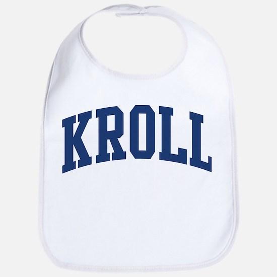 KROLL design (blue) Bib