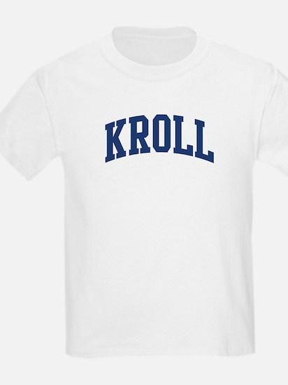 KROLL design (blue) T-Shirt