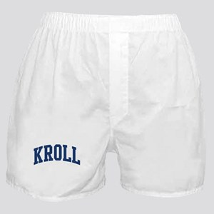 KROLL design (blue) Boxer Shorts