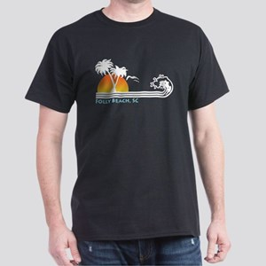 Folly Beach SC Dark T-Shirt
