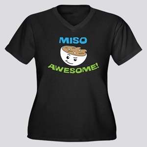 Miso Awesome! Plus Size T-Shirt
