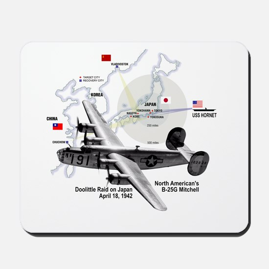 B-25 Mitchell 1942 Mousepad