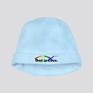 God is Love. baby hat