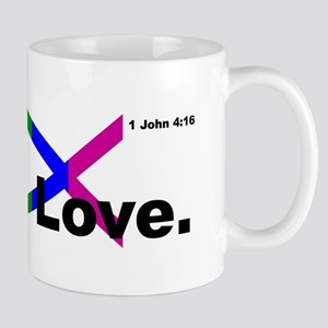 God is Love. Mugs