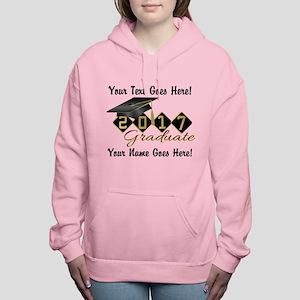 Graduate Black 2017 Women's Hooded Sweatshirt