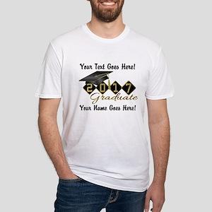 Graduate Black 2017 Fitted T-Shirt