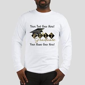 Graduate Black 2017 Long Sleeve T-Shirt