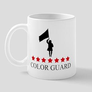 Color Guard (red stars) Mug