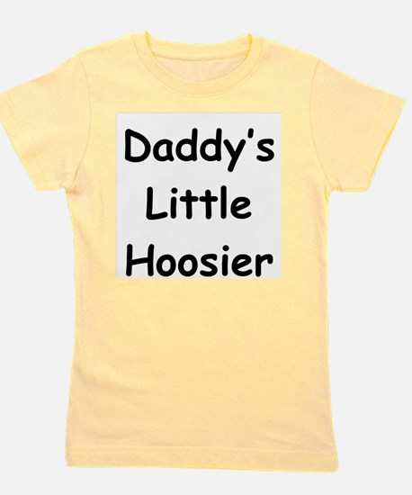 Daddy's Little Hoosier Kids T-Shirt