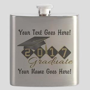 Graduate Black 2017 Flask