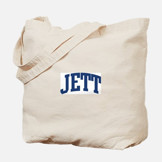 JETT design (blue) Tote Bag