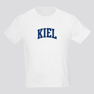 KIEL design (blue) Kids Light T-Shirt